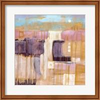 Framed Terre Cotta Dunes I