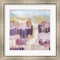Framed Terre Cotta Dunes II
