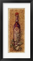 Balsamic Vinegar Framed Print