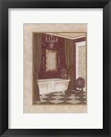 Framed Luxury Bath II