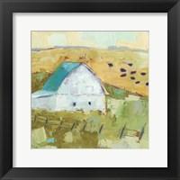 Framed Nash Barn