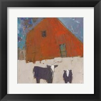 Framed Hazel Barn
