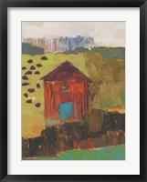 Framed Darlington Barn