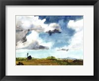Framed Country Life II