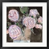 Framed Rose Clippings I