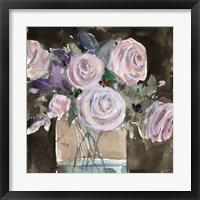 Framed Rose Clippings II