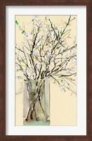Framed Spring Floral Arrangement I
