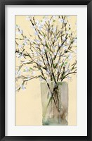 Framed Spring Floral Arrangement II