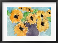 Framed Sunflower Moment I