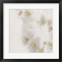 Framed Spangled Grey II