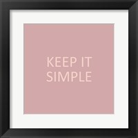 Framed Simple Sentiment IV