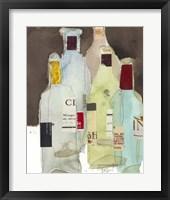 Framed Wines & Spirits III