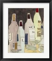 Framed Wines & Spirits IV