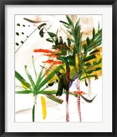 Framed Jungle in My Heart I