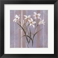 Framed Stripes and Lilies