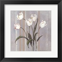 Framed Stripes and Tulips