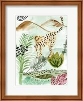 Framed Jungle of Life I
