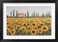 Framed Tuscan Memories I