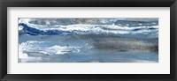 Framed Peaceful Blue II