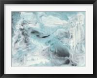 Framed Turquoise Light II