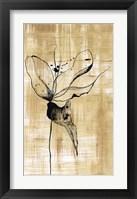 Framed Gilded Beauty II