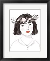 Framed Blossom Crown I