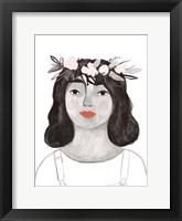 Framed Blossom Crown II