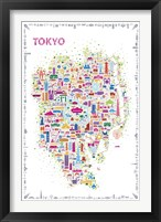 Framed Iconic Cities-Tokyo