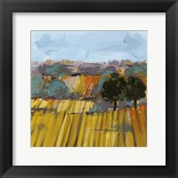 Framed Wheat Crop I