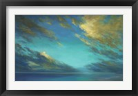 Framed Coastal Cloudscape