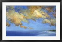 Framed Golden Cloudscape