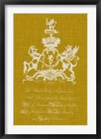 Framed Heraldry Pop IV
