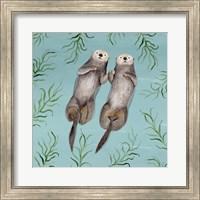 Framed Otter's Paradise III