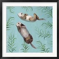 Framed Otter's Paradise IV