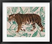 Tigre de Siberie II Framed Print