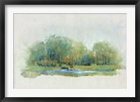 Forest Vignette II Framed Print