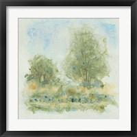 Fluid Landscape I Framed Print