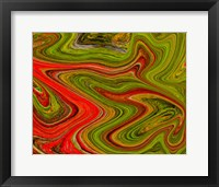 Framed Abstract Swirl