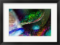 Framed Macro Of Colorful Glass 2
