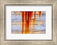 Framed Rust Abstract
