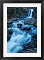 Framed Tawhai Falls, Whakapapanui Stream, Tongariro National Park, New Zealand