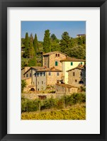 Framed Italy, Florence, Winery, Villa