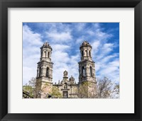 Framed San Hipolito Church, Mexico City