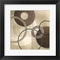 Framed Hoops 'n' Loops I