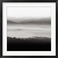 Framed Still Morning Smoky Mountains