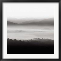 Framed Still Morning Smoky Mountains