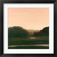 Framed Pink River