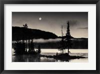 Framed Full Moon At Waldo