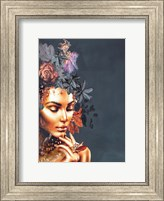 Framed Gold Couture 1