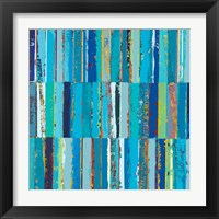 Framed Endless Blue